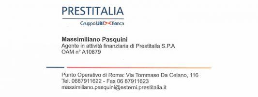 Punto Operativo Prestitalia Gruppo UBI Banca