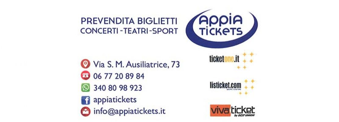 Appia Tickets